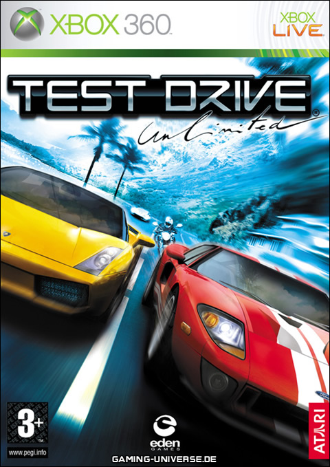 jaquette Test drive unlimited xbox360